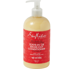 Shea Moisture Red Palm Oil & Cocoa Butter Rinse Out or Leave-In Conditioner 384ml
