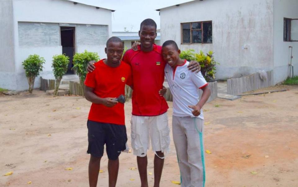 De tre nye ansigter tilhører tre unge mænd med navnene (fra venstre) Manuel Manecas, Elidio Cumbi og Nicolacio Baloi