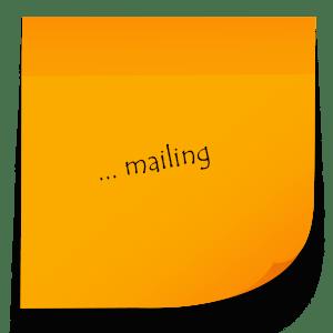 Chez Assist'Elo, la secrétaire freelance se charge de l'envoi de mailing pour garder le contact avec vos clients et prospects