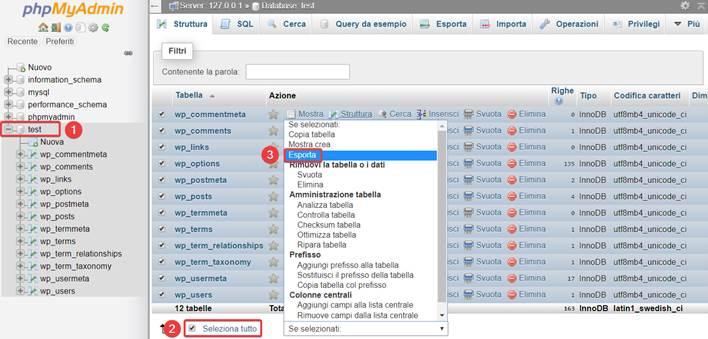 Come trasferire WordPress da locale a remoto-Step4