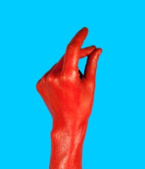 gesture for quit - finger snapping using middle finger and thumb.