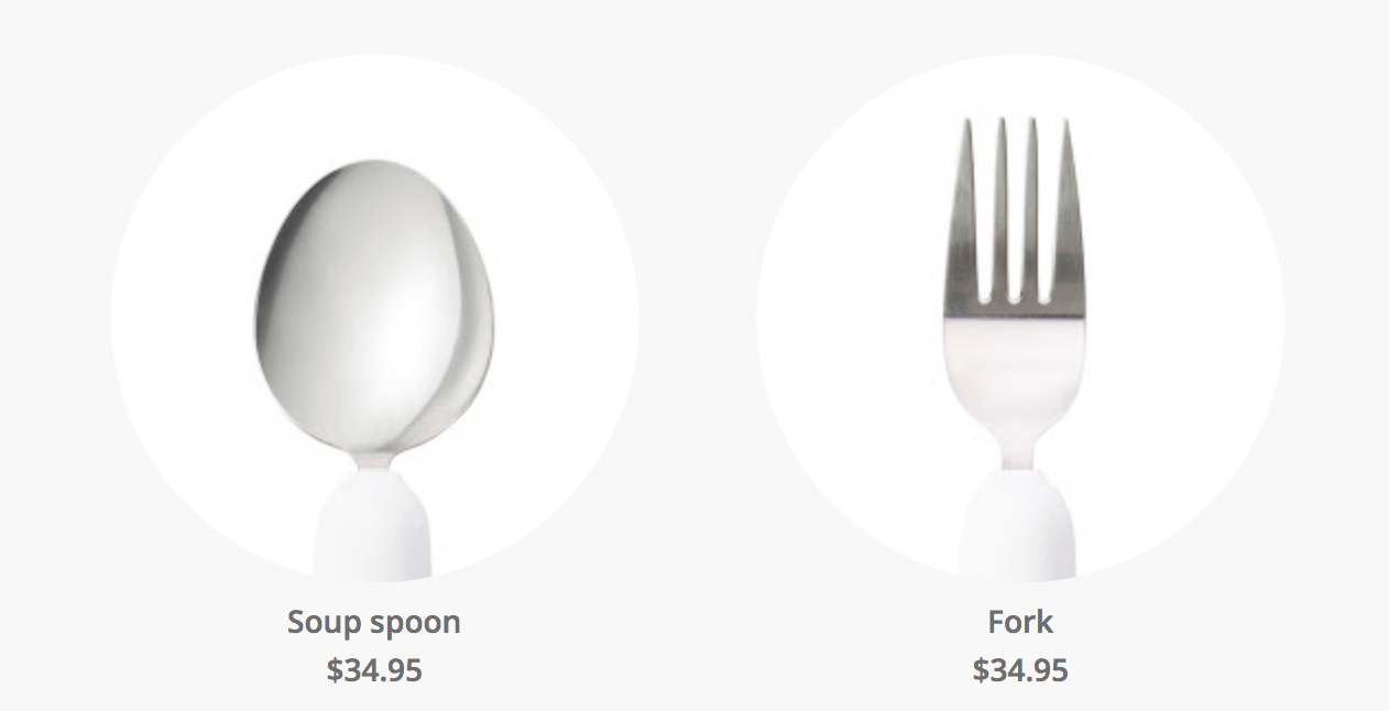 Soup Spoon & Fork Attachments