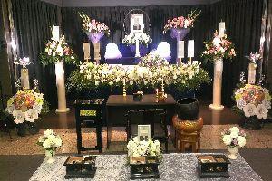 横浜市戸塚斎場・通夜・告別式のあるお葬式での写真・家族葬・密葬・一般葬イメージ
