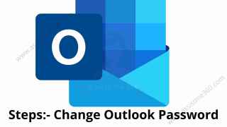 How to change password on Outlok
