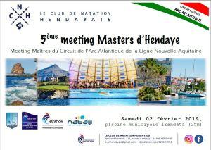 5ème Meeting Masters d'Hendaye @ Piscine municipale  Irandatz | Hendaye | Aquitaine | France