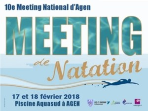 10e Meeting National d'Agen - 50 m @ Agen Piscine Aqua'Sud | Agen | Aquitaine | France