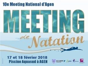 10e Meeting National d'Agen - 50 m @ Agen Piscine Aqua'Sud | Agen | Aquitaine | France