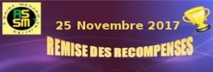 Soirée des récompenses de l'ASSM : 25 novembre 2017 @ Carré des Jalles | Saint-Médard-en-Jalles | France