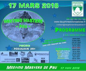 MEETING MASTERS DE PAU @  piscine Péguilhan (5X25 m) | Pau | Nouvelle-Aquitaine | France