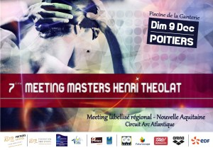 7ème meeting Masters henri Théola @ Piscine de la Ganterie | Poitiers | Nouvelle-Aquitaine | France