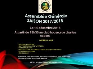 AG de l'OMNISPORT ASSM @ Club House | Saint-Médard-en-Jalles | Nouvelle-Aquitaine | France