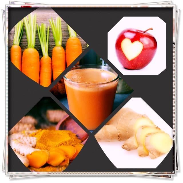 jus carotte-pomme