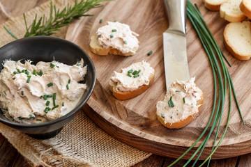 Recette : La crème au thon apéritive
