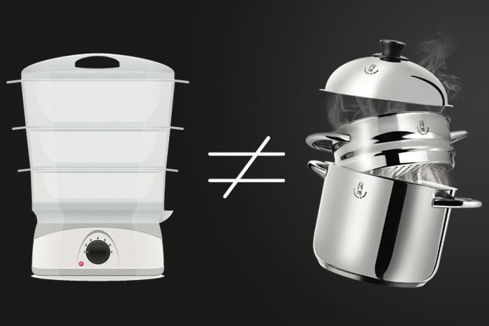 Le Vitaliseur VS le cuit-vapeur !