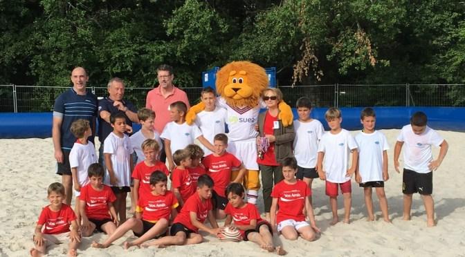 Initiation au rugby pour les enfants, rencontre avec Léo