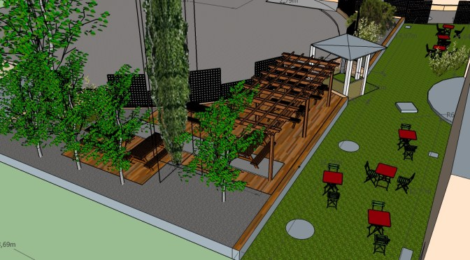 Inauguration du jardin Marly de l'Institut Bergonié, jeudi 15 juin à 12h30