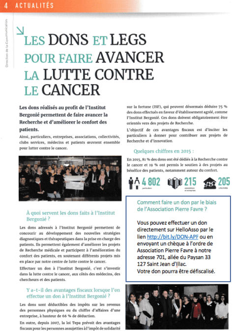 Association Pierre Favre Don Institut Bergonie lutte contr ele cancer.png