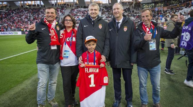 La Fondation Flavien invitée d'honneur de l'AS Monaco à Bordeaux