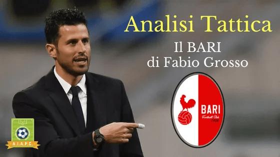 Analisi Tattica: il Bari di Fabio Grosso
