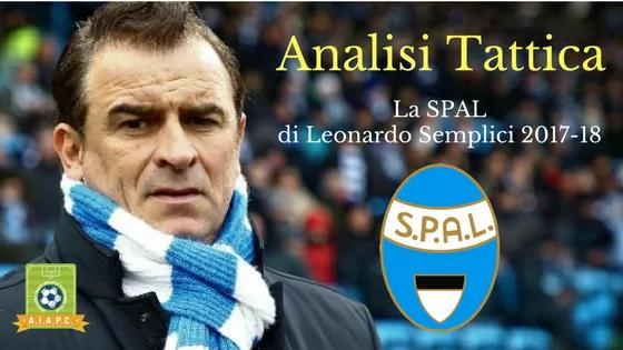 Analisi Tattica: la SPAL di Leonardo Semplici 2017-18