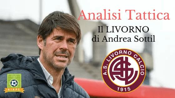 Analisi Tattica: il Livorno di Andrea Sottil