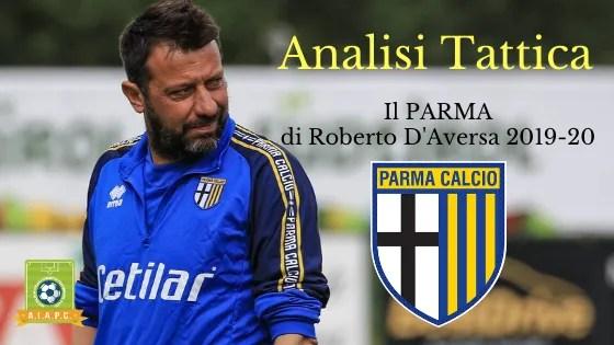 Analisi Tattica: il Parma di Roberto D'Aversa 2019-20
