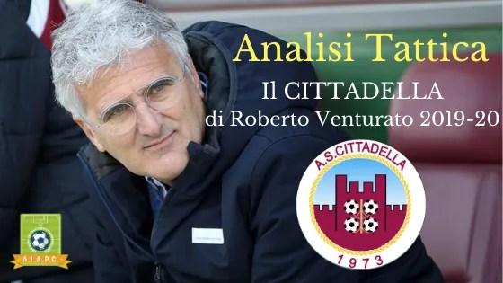 Analisi Tattica: il Cittadella di Roberto Venturato 2019-20