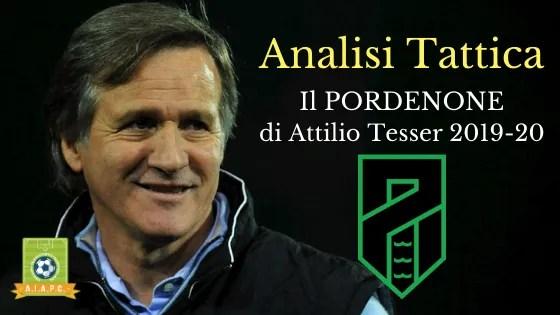 Analisi Tattica: il Pordenone di Attilio Tesser 2019-20