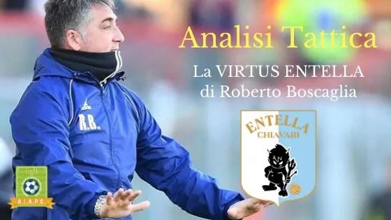 Analisi Tattica: la Virtus Entella di Roberto Boscaglia