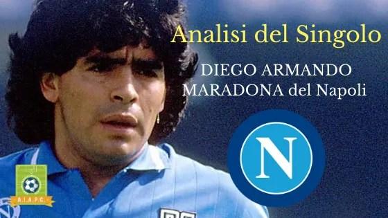 Analisi del Singolo: Diego Armando Maradona del Napoli