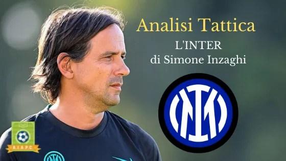 Analisi Tattica: l'Inter di Simone Inzaghi