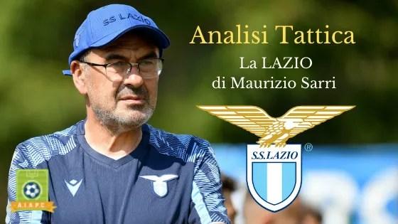 Analisi Tattica: la Lazio di Maurizio Sarri