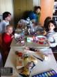 Arrivée dans les bungalows et premier repas de groupe !