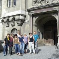 L'équipe des JNA2015 au Musée d'Archéologie Nationale !