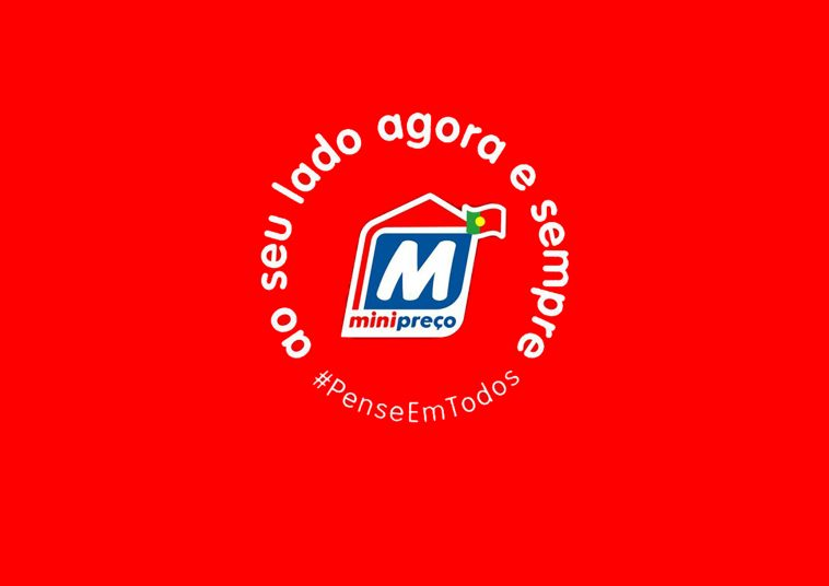 """Minipreço lança novo logótipo e assinatura """"Ao seu lado Agora e Sempre"""""""