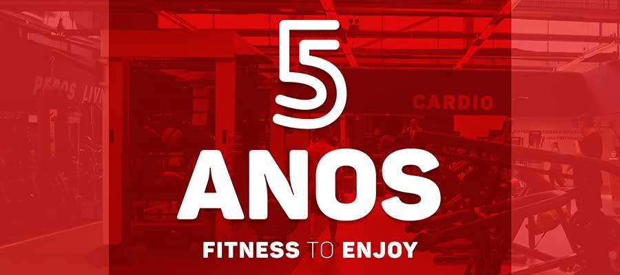 Franchising Fitness Factory celebra quinto aniversário
