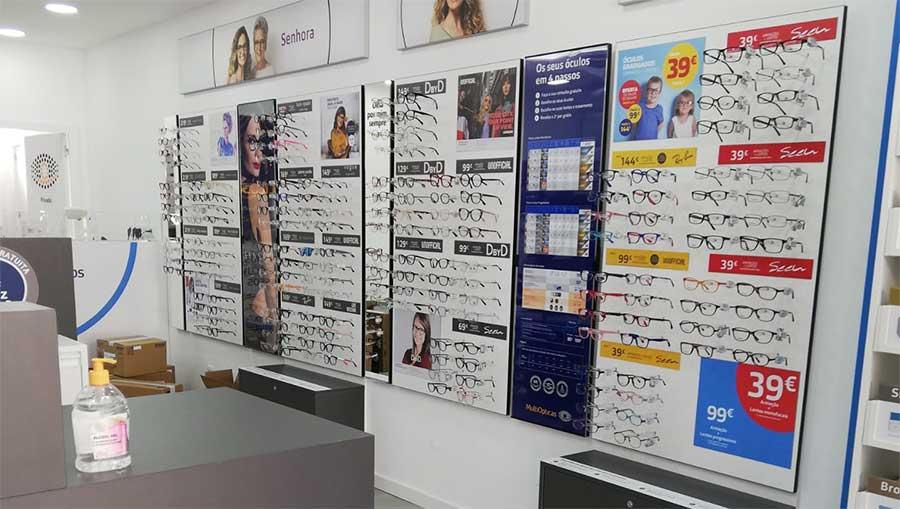 Franchising MultiOpticas inaugura nova loja em Oeiras