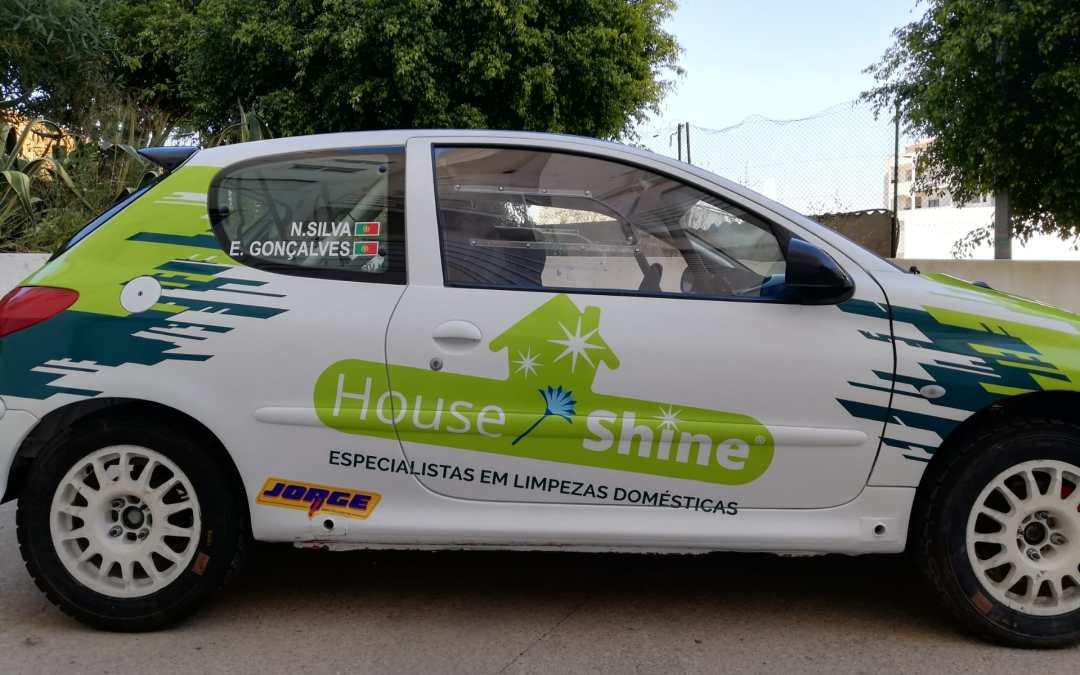 House Shine marca presença no Rally Flor do Alentejo 2021