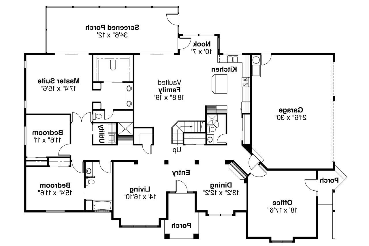 Free Spanish Colonial House Plans