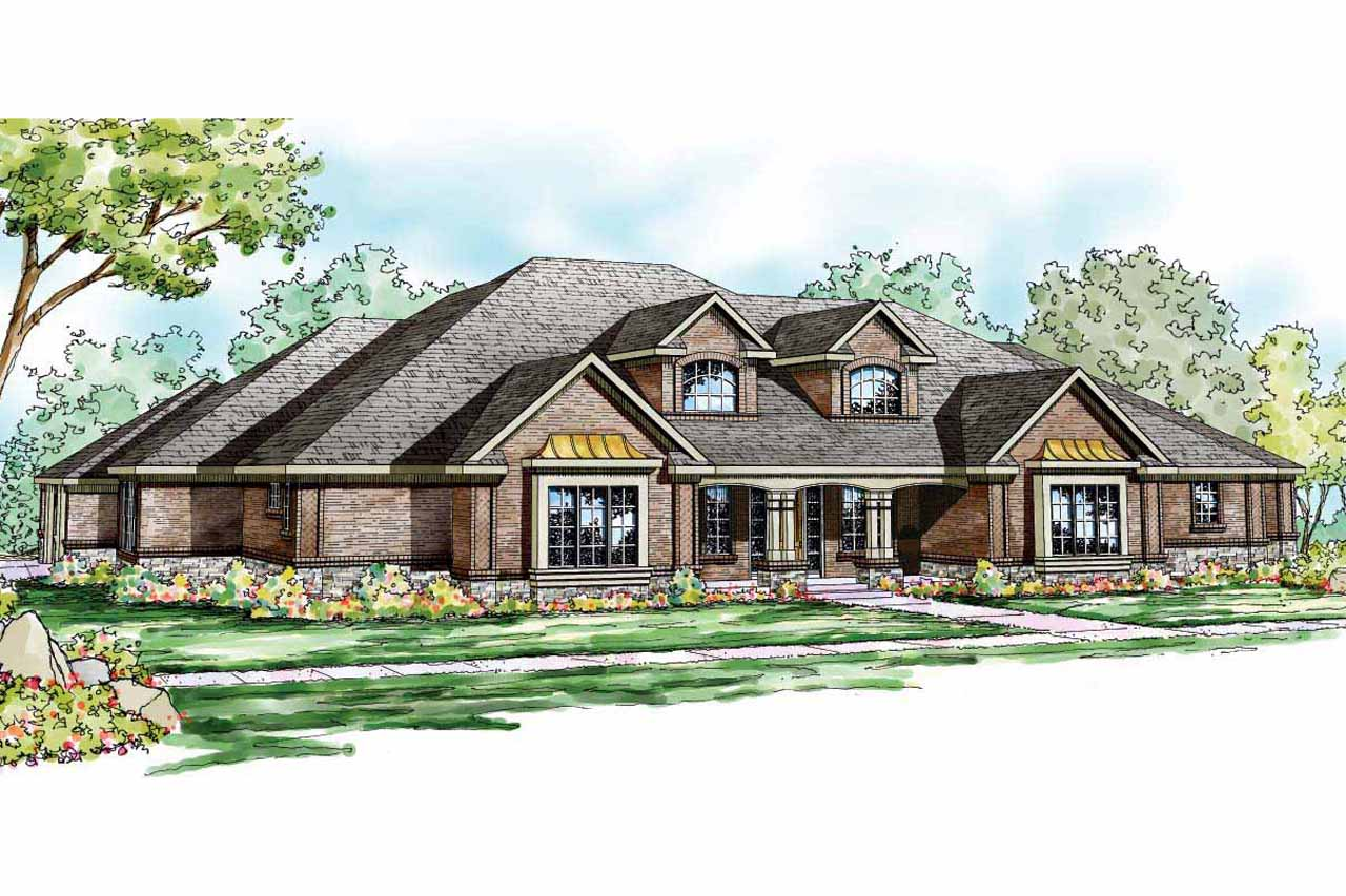 Traditional House Plans   Monticello 30 734   Associated Designs Traditional House Plan   Monticello 30 734   Front Elevation