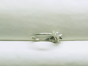 Also, the shank of the ring is very thin & we need to put on a half shank