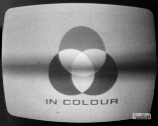 First part of the famous Zoom 2 colour ident introduced in 1969