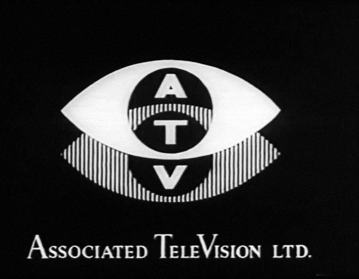 1955 frontcap, taken from the daily start-up animation, featuring the misdrawn ident