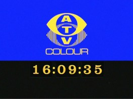 Recreation of the ATV Midlands mechanical digital clock introduced in September 1971