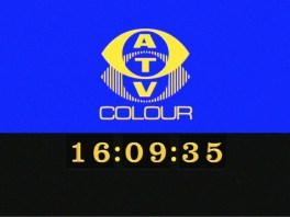 Recreation of the ATV Midlands mechanical digital clock introduced in September 1971