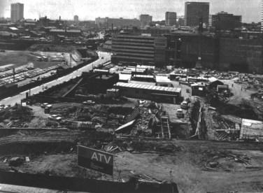 ATV Centre in Birmingham under construction in the late 1960s