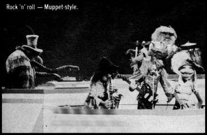 Rock 'n' roll - Muppet-style.