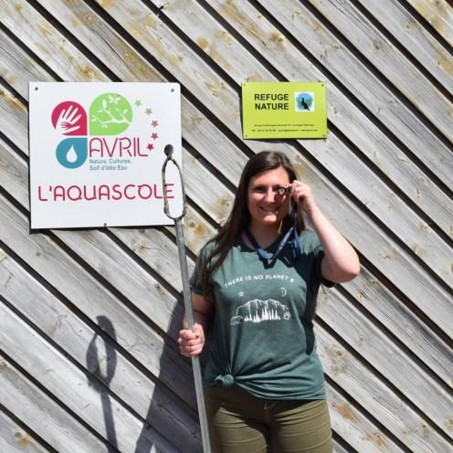 Alicia Bouvet - Technicienne Zones humides Bocage