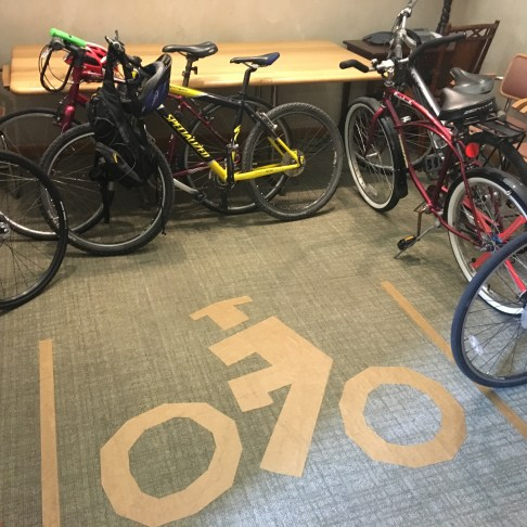 A3 Bike Parking, Final Stop!