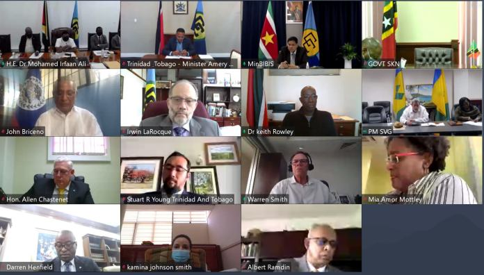 CARICOM holds emergency session, pledges support to St Vincent and Grenadines